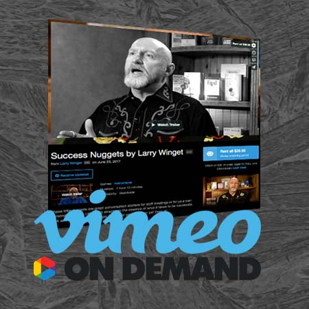 Vimeo on Demand: Success Nuggets
