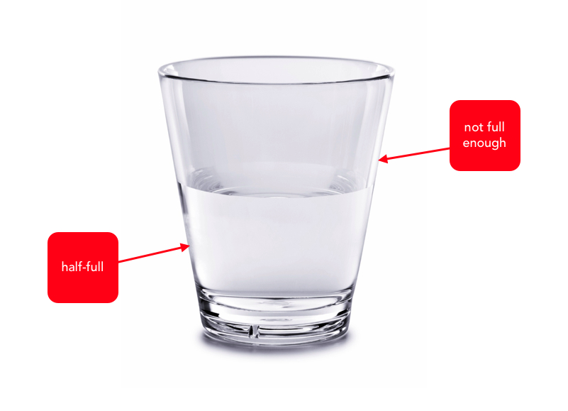 half of the glass Keeping the glass half full 302 likes welcome - this is my honest, often humorous & always optimistic blog about the fun, fortunes & foibles of a.