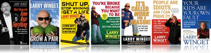 Larry Winget's Books